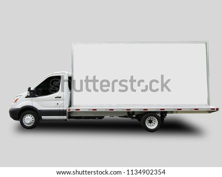 Billboard Advertising Truck