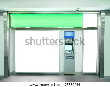 Billboard and automated teller machine
