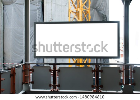 billboard blank.billboard blank isolated on white background #1480984610