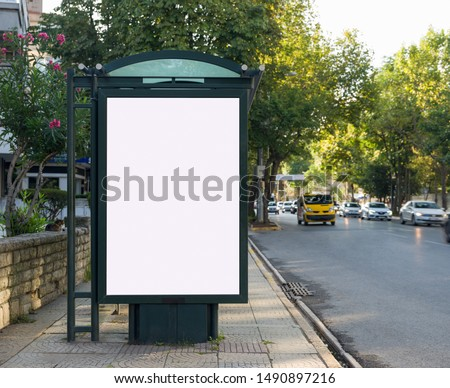 Billboard, City Bus Stop Advertising Areas