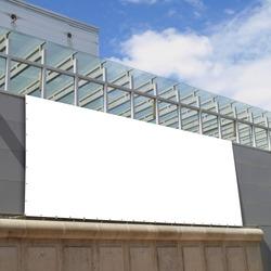 Billboard on a Trade Fair