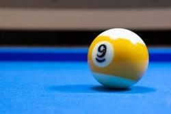 Billiard ball number 9
