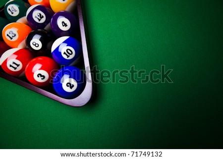 Billiard balls - pool