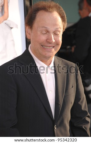 "Billy Crystal at the world premiere of ""License to Wed"" at the Cinerama Dome, Hollywood. June 26, 2007  Los Angeles, CA Picture: Paul Smith / Featureflash"