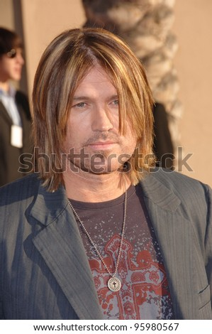 BILLY RAY CYRUS at the 2006 American Music Awards at the Shrine Auditorium, Los Angeles. November 21, 2006  Los Angeles, CA Picture: Paul Smith / Featureflash