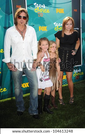 stock photo billy ray cyrus with brandi cyrus and family at the teen choice awards gibson amphitheatre 104613248 lesbeians teens sucking dancingbear porn, sexy free celebrity porn, ...