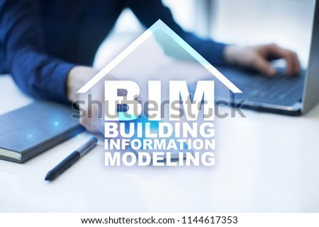 BIM - Building information modeling is a process the generation and management of digital representations of physical and functional characteristics of places. #1144617353