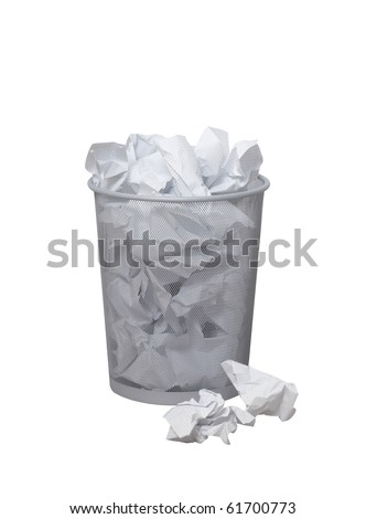 Bin the paper