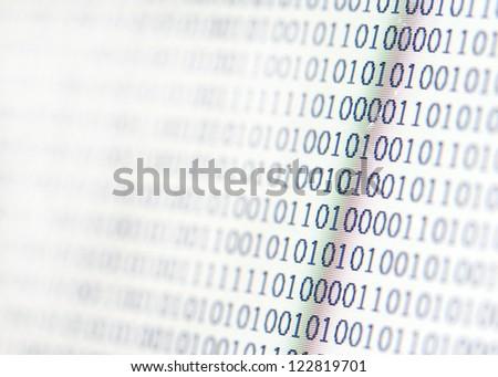 binary code display