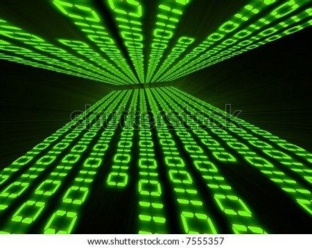 Binary code with strong perspective