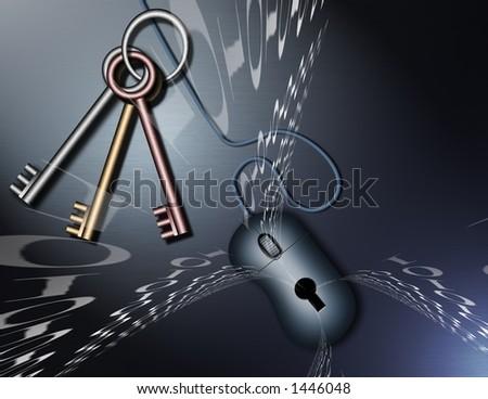 Binary lock and security