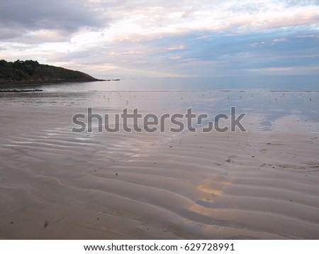 Binic beach in Brittany #629728991