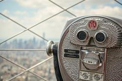 Binoculars in New York
