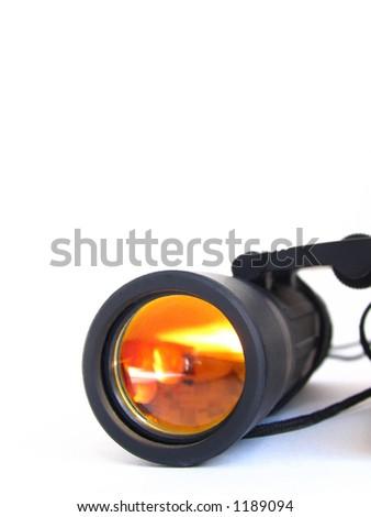 binoculars on white #1189094