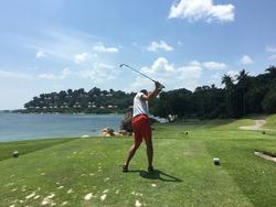 Bintan Island, golf resort in Indonesia, 2019