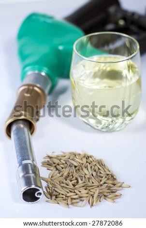 Bio-fuel close up