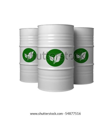 bio fuel in barrels
