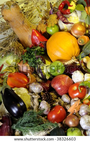 bio vegetables and fruits