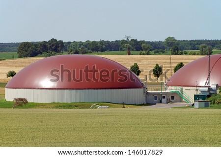 Biogas facility / biomass