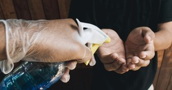 biosafety protocol, aerosol hand sanitizer