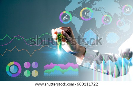 biotechnology concept.