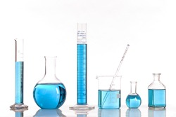 Biotechnology laboratory glassware