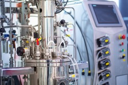 Biotechnology. Pharmacology. Bioreactor. Bioreactor for growing microorganisms. Clinical fermenter. Microbial fermentation. Creation of medicines. Microbiology.