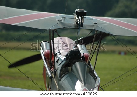 biplane fighter plane