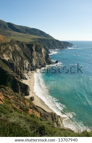 Bir Sur coastline in California