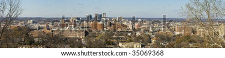 Birmingham, Alabama panorama