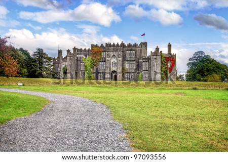 Birr Castle  in the town of Birr in County Offaly - Ireland.