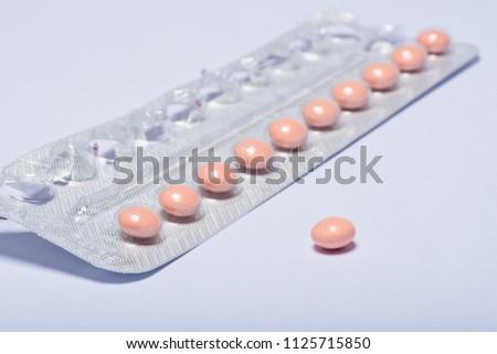 Birth control pill, contraceptive, safe sex