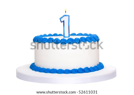 Birthday cake  stock image #52611031