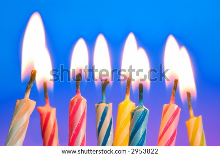 Birthday Candle-F