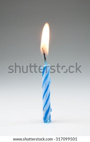 birthday candles Foto stock ©