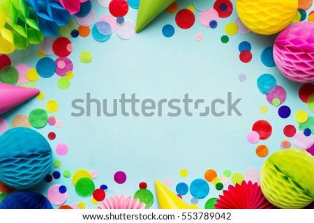 Birthday party background
