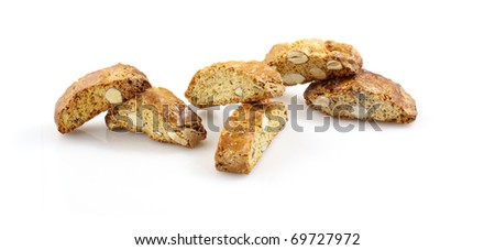 Biscuits with almonds