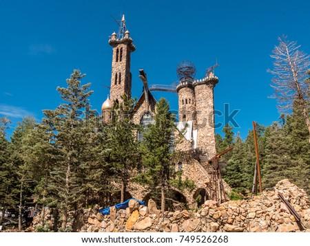 Bishops Castle in Colorado