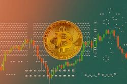 bitcoin bubble risk of collapse concept