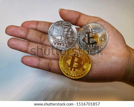 Bitcoin crypto currency and digital currency
