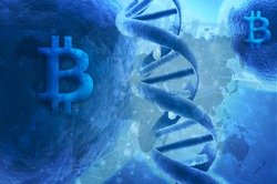 BItcoin DNA, Bitcoin, CryptoCurrency, Blockchain , Bitcoin building, ICO Transaction & Buy Sell process , Index Fund, Crypto Capital Security , ICO Investment Photo
