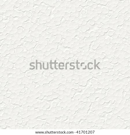 Bitmap Illustration of Styrofoam Texture Background