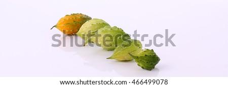 bitter gourd - Shutterstock ID 466499078