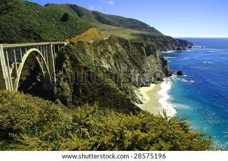 Bixby Bridge Hwy. 1 California