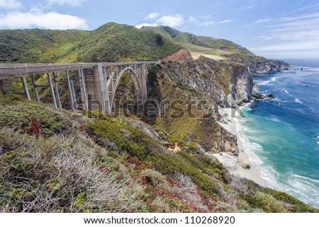 Bixby Bridge in Big Sur, California