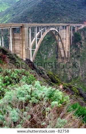 Bixby Bridge on Highway 1, CA