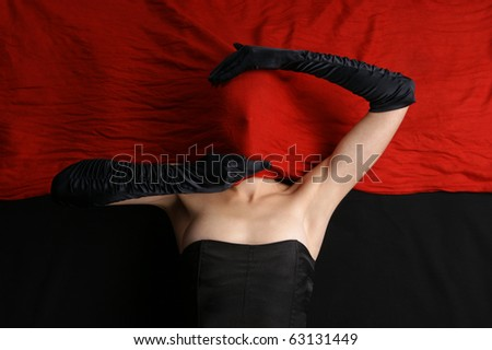 Stock Photo Bizarre shoot of sexy lady