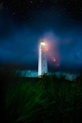 Blåvand Fyr Lighthouse in Denmark