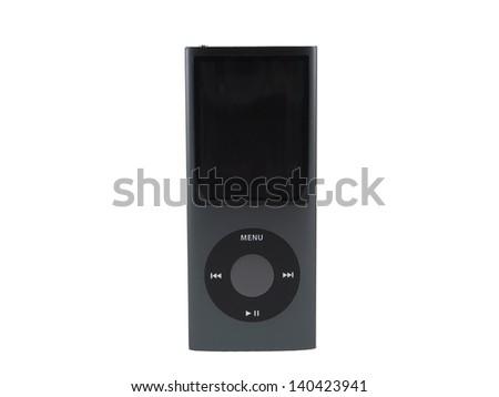 Black Aluminium MP3 Player