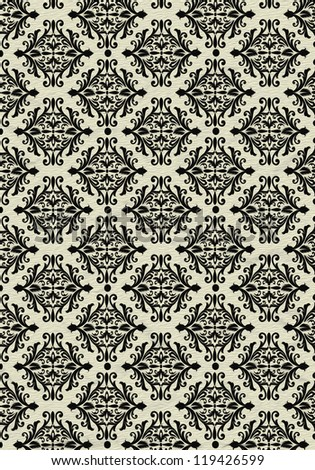 Black and beige beautiful vintage background pattern